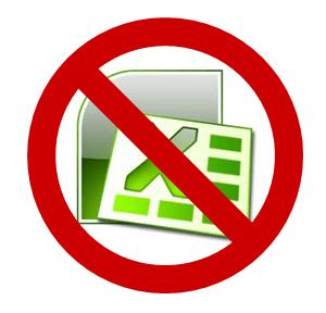 Excel? Nooo!