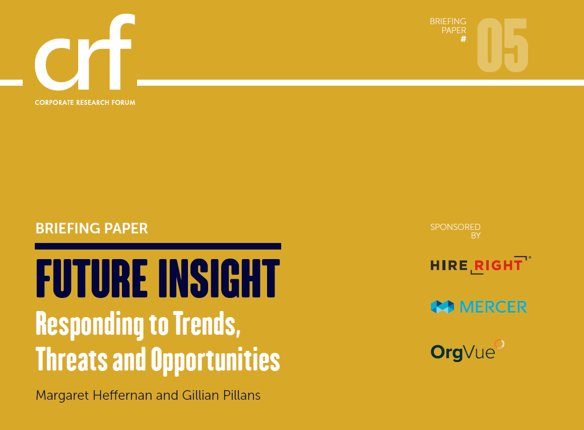 Future insight CRF whitepaper